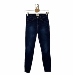 L'AGENCE Margot High Rise Skinny Jeans in Lapis